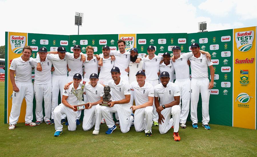 England v SAf series win